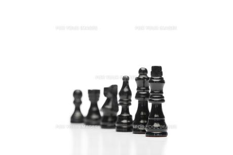 Black pieces of chessの素材 [FYI00487867]