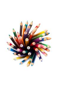 Colored pencilsの写真素材 [FYI00487873]