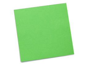 Green postitの写真素材 [FYI00487886]
