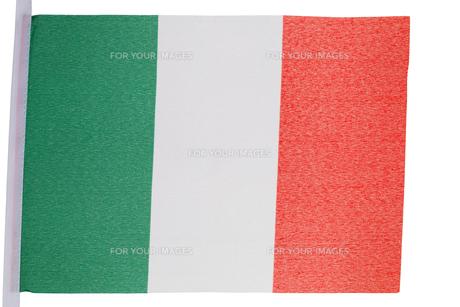 Italian flagの素材 [FYI00487922]