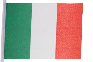Italian flagの写真素材 [FYI00487922]