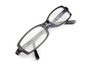 Pair of  glasses isolatedの写真素材 [FYI00487931]