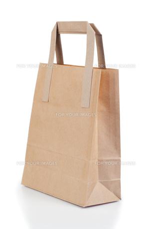Brown paper bagの写真素材 [FYI00487945]
