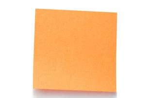 Orange postitの素材 [FYI00487986]