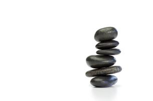 Piled up pebblesの写真素材 [FYI00487995]