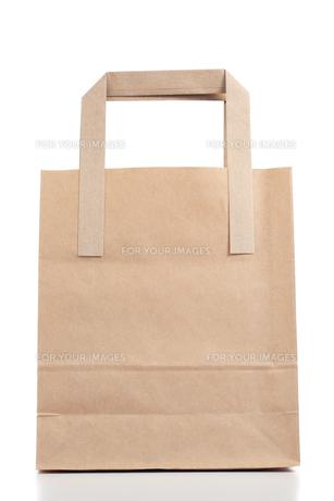 Brown paper bagの写真素材 [FYI00488029]