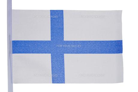 Finnish flagの写真素材 [FYI00488039]