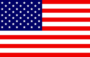 American flagの写真素材 [FYI00488163]