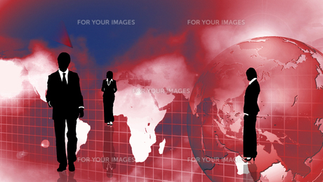 Group of Business people showing international teamworkの写真素材 [FYI00488179]