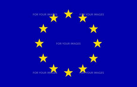 EU Flagの素材 [FYI00488181]