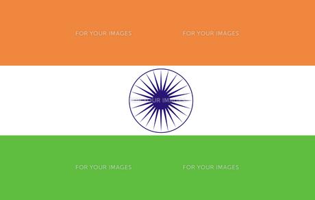 Indian Flagの素材 [FYI00488186]