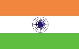 Indian Flagの写真素材 [FYI00488186]