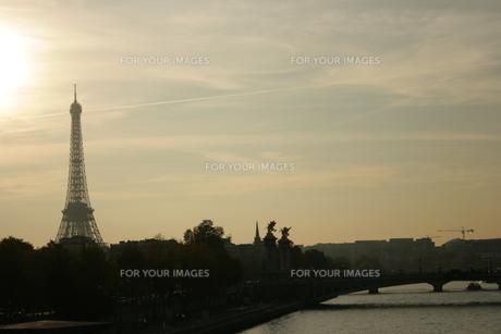 Eiffel towerの素材 [FYI00488187]