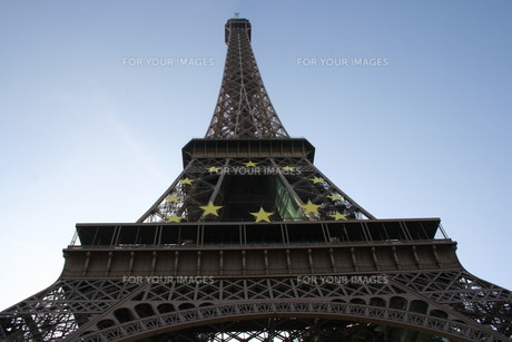 Eiffel Towerの素材 [FYI00488256]