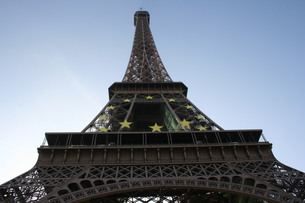 Eiffel Towerの写真素材 [FYI00488256]