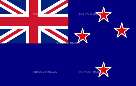 New Zeeland Flagの素材 [FYI00488272]