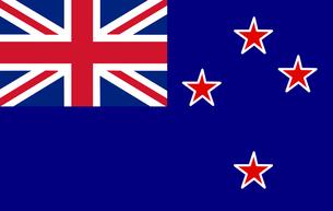 New Zeeland Flagの写真素材 [FYI00488272]