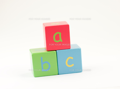 Letters of the Alphabetの写真素材 [FYI00488299]