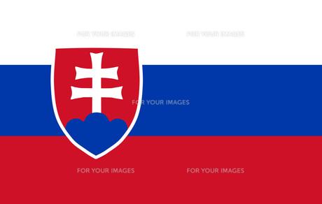 Slovakian Flagの素材 [FYI00488311]