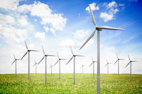 Wind turbinesの写真素材 [FYI00488322]