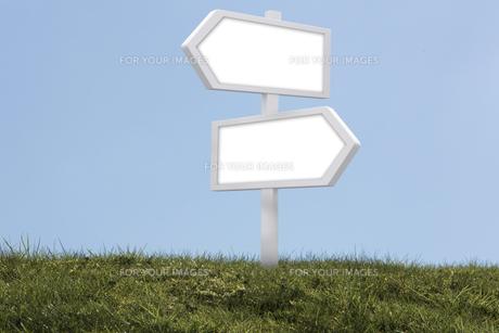 Blank signの素材 [FYI00488338]