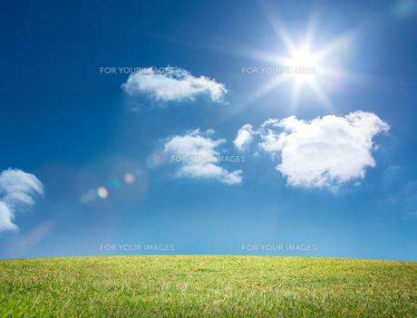Digital landscapeの写真素材 [FYI00488360]