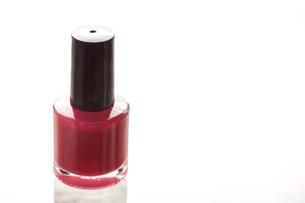Red nail polishの写真素材 [FYI00488368]