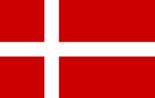 Danish Flagの写真素材 [FYI00488407]