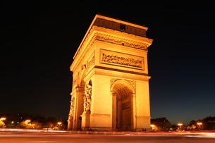Arc De Triumphe in Franceの素材 [FYI00488411]