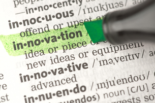Innovation definition highlighted in greenの素材 [FYI00488421]