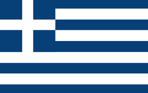 Greek Flagの写真素材 [FYI00488595]