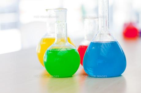 Chemical test tubeの写真素材 [FYI00488614]