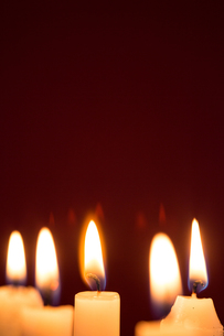Five candlesの写真素材 [FYI00488625]