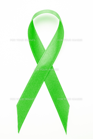 Green awareness ribbonの素材 [FYI00488627]