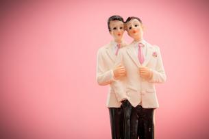 Gay groom cake toppersの素材 [FYI00488655]