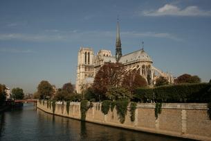 Notre Dam in Parisの素材 [FYI00488719]
