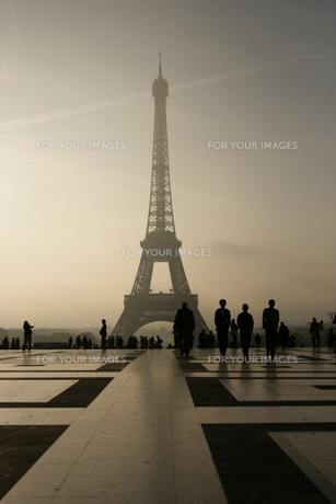 Eiffel towerの素材 [FYI00488761]
