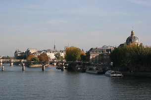 River Seine in Parisの写真素材 [FYI00488766]