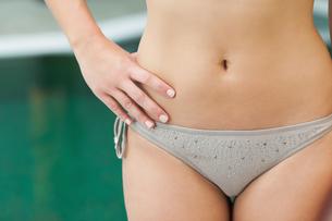 Grey bikini bottomsの素材 [FYI00488775]