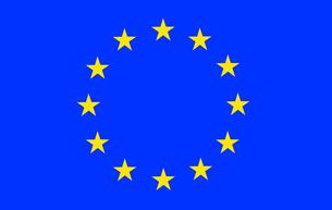 European Union Flagの写真素材 [FYI00488791]