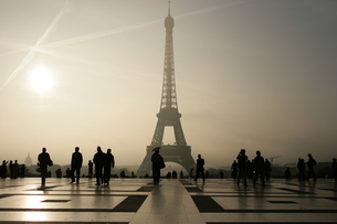 Eiffel towerの写真素材 [FYI00488841]
