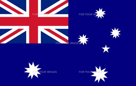 Australian Flagの素材 [FYI00488842]