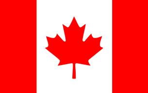Canadian Flagの写真素材 [FYI00488853]