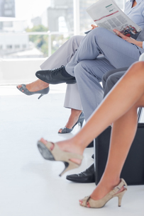 Legs of business peopleの写真素材 [FYI00488929]