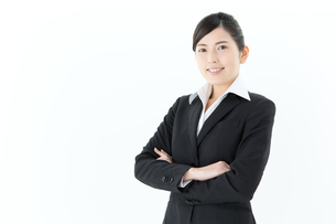 爽やかなビジネスウーマンの写真素材 [FYI00490386]