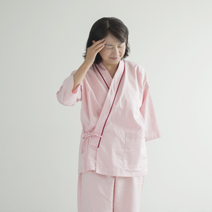 頭痛の患者の写真素材 [FYI00491344]