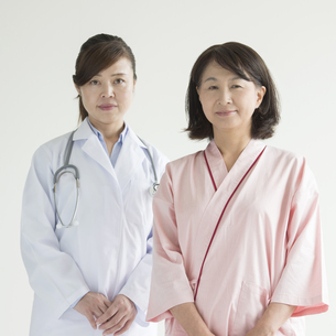 女医と患者の写真素材 [FYI00491368]