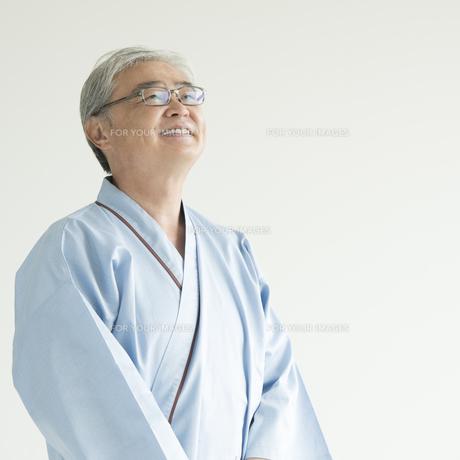 微笑む患者の写真素材 [FYI00491380]