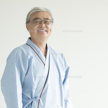 微笑む患者の写真素材 [FYI00491381]