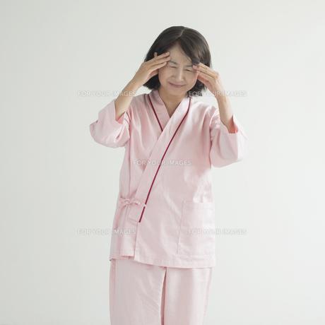 頭痛の患者の写真素材 [FYI00491428]